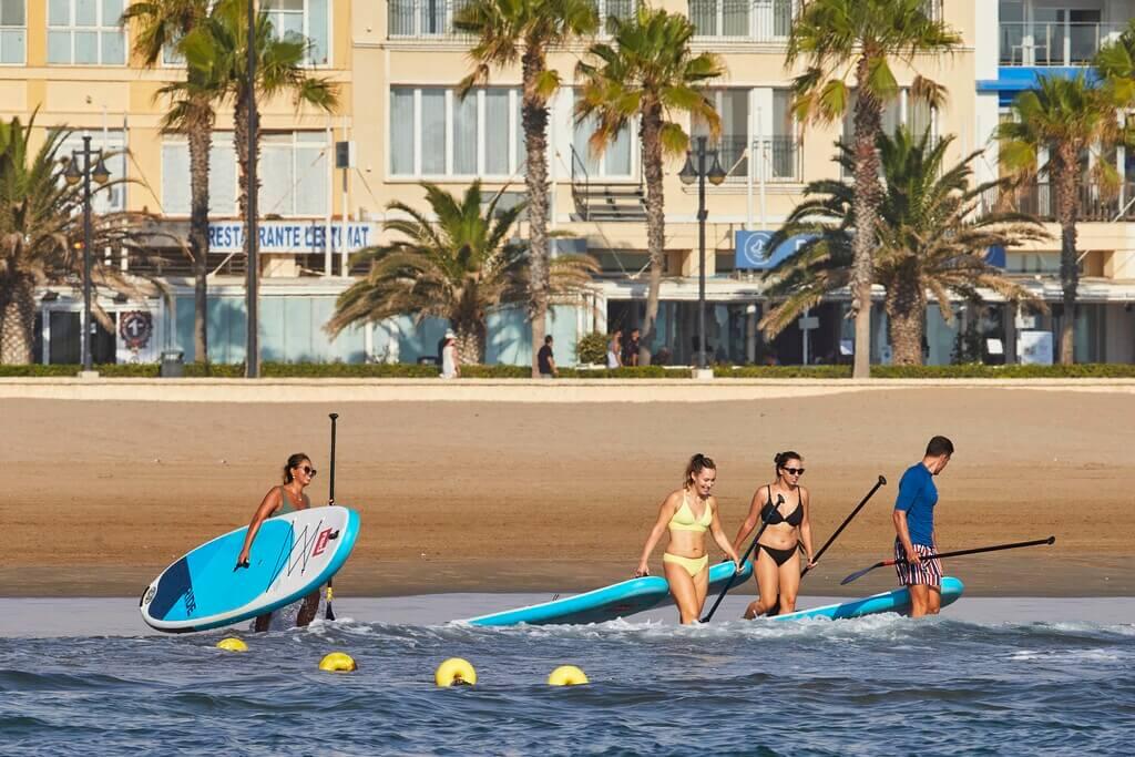 Paddle surf Valencia