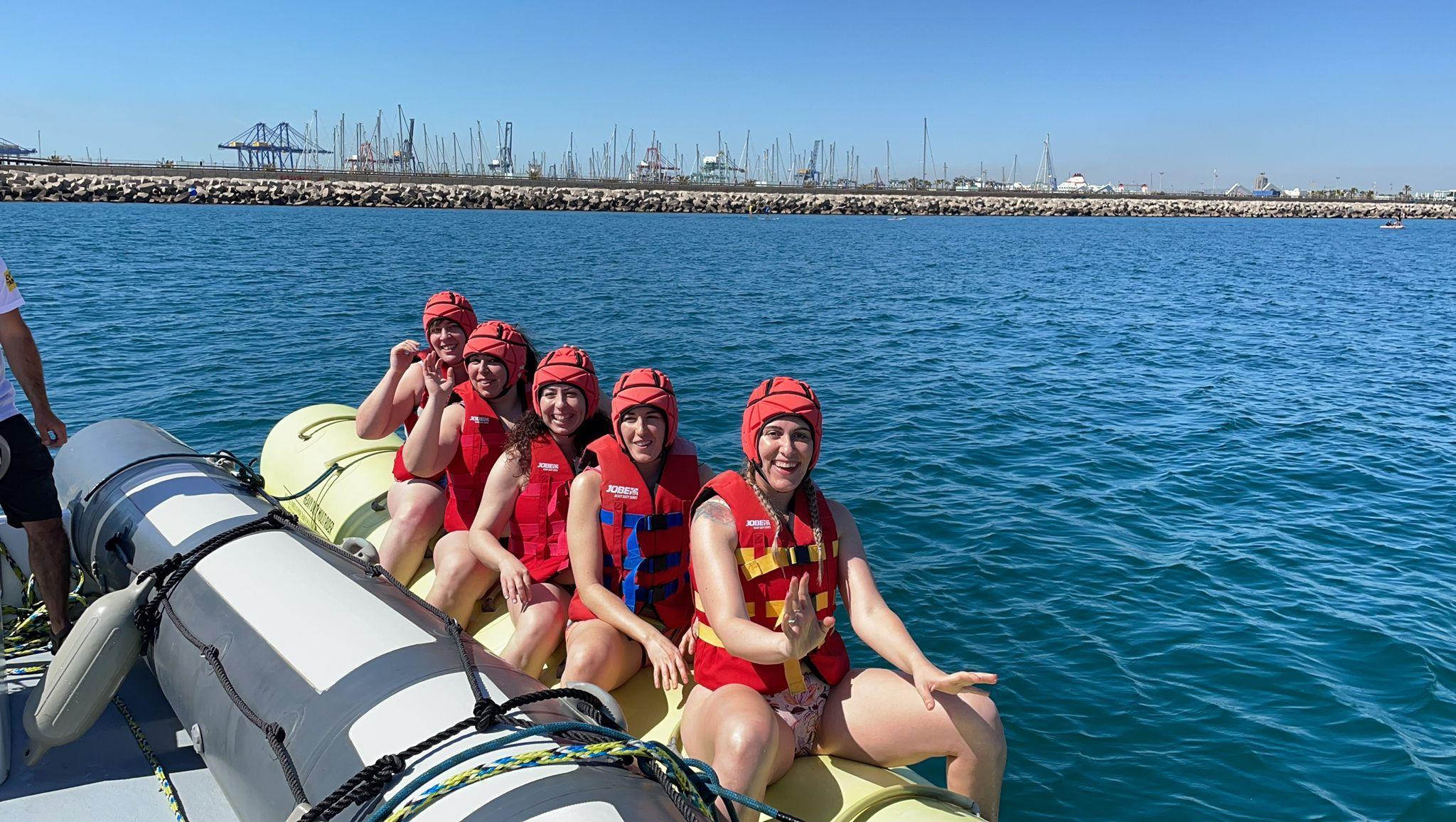 Diversión a tope - Banana Boat en Valencia