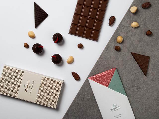 Chocolates Utopick souvenir Valencia