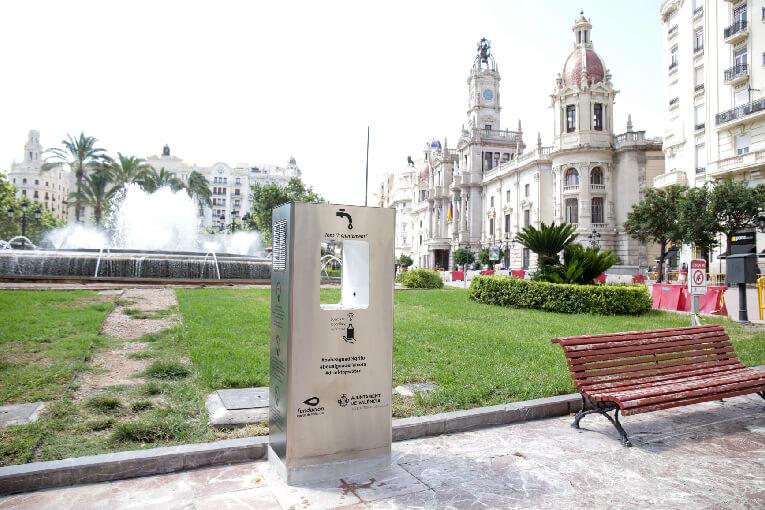 Fuente agua filtrada Valencia