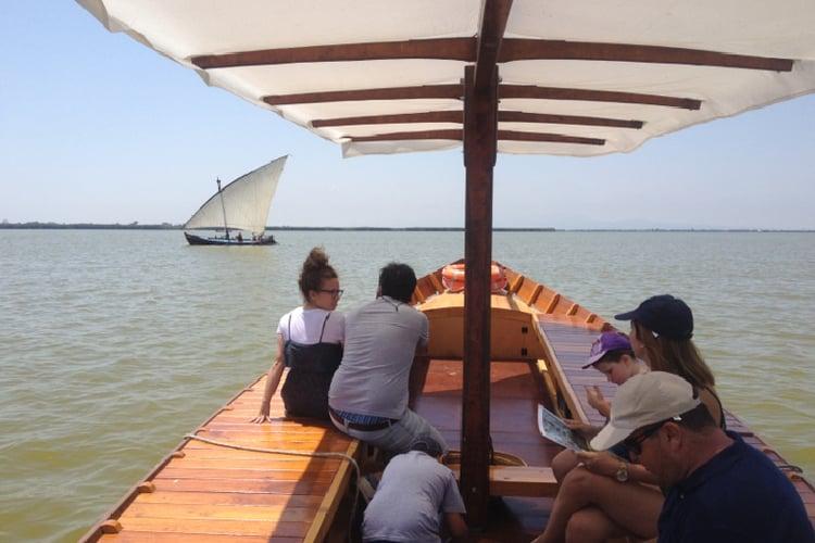 Paseo barca Albufera Valencia