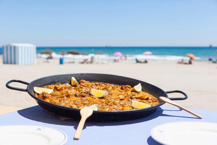 Paella-playa