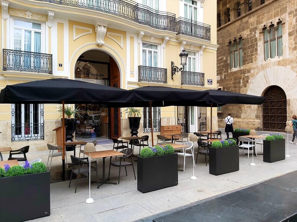 Terraza verano hotel Palacio Vallier_1