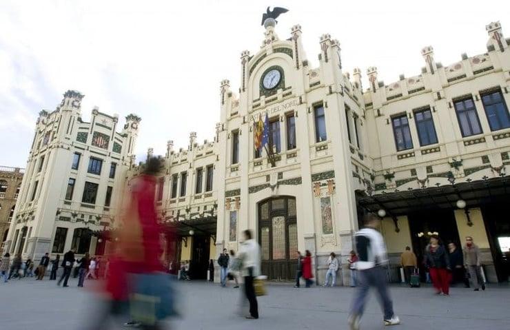 La estación del Norte (Gare du Nord de Valencia))